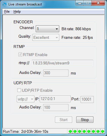 hdmi encoder supports ustream live stream